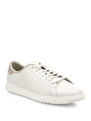 Cole Haan Grand Pro Tennis Leather Sneakers