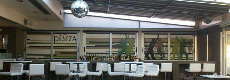 Coffee + wine bar Plaza. Nydri Leykada.