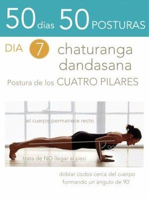 50 días 50 posturas. Día 7. Postura de los cuatro pilares