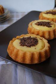 Mes petites fiches cuisine...: Tartelettes de biscuit de Savoie au citron