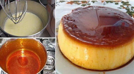 Égetett cukor krém - a desszert, amiért milliók rajonganak! Nézd én, hogyan készítem, mindig remekül sikerül! - Ketkes.com