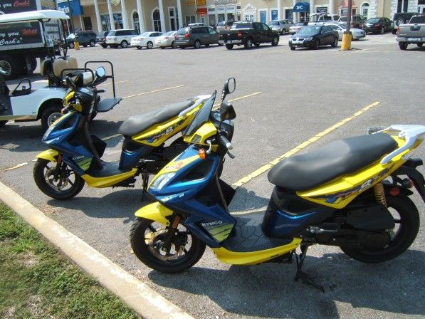 Take a Scenic Scooter Ride in Destin:  How would you like to cruise around Destin on a gas powered scooter? Scooter rides are a great way to take in the Emerald Coast's natural beauty because they are more intimate than a car, but require far less effort than a bicycle. Located minutes away from our bed and breakfast in Destin, Scooter Rentals Destin offers excellent motorized scooters for a day of sightseeing. - Follow the link for more info!