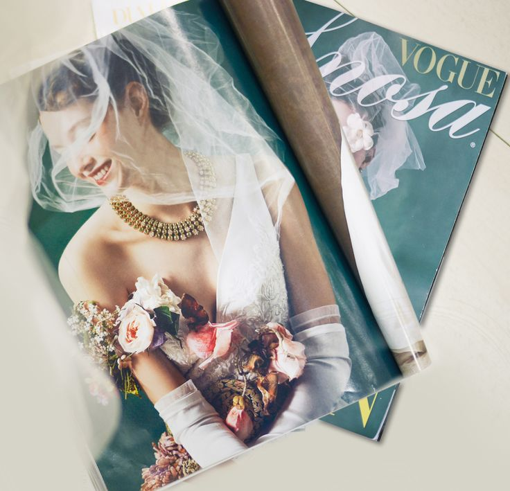 Allegory of the nature! Thanks to Vogue Sposa! #NicolePressReview