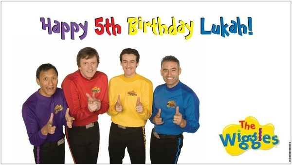 Custom Vinyl The Wiggles Birthday Party Banner Decorations with Childs Name | eBay