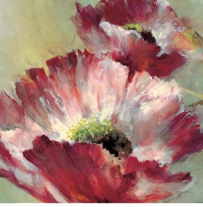 Lush Poppy art print