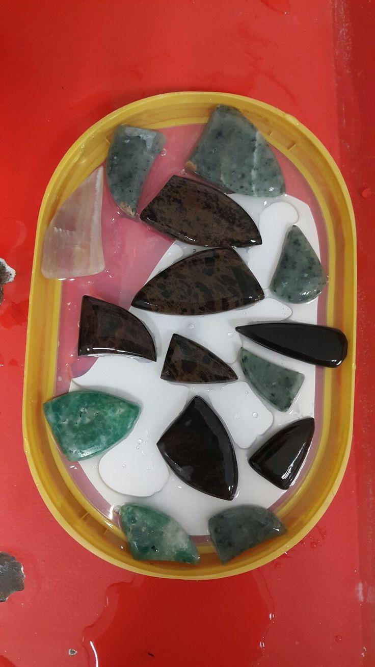 Turkish obsidyen and nefrite