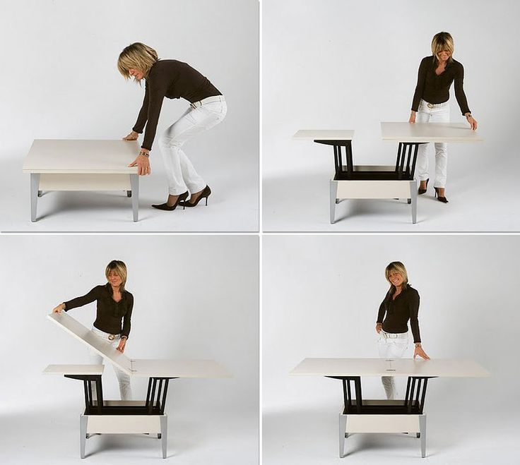 Convertible tables smart and modern solutions for small - Dining table small space solutions concept ...