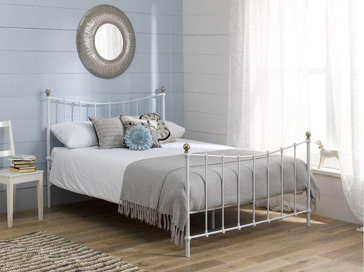 Best 25+ White Bed Frames Ideas On Pinterest