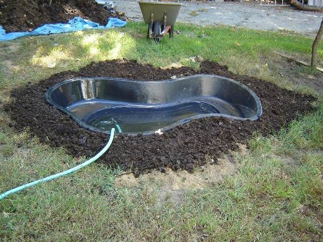 The 25 best plastic pond liner ideas on pinterest pond for Plastic pond tub