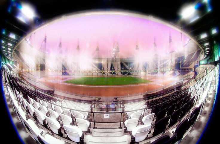 Chris Levine's london olympic stadium
