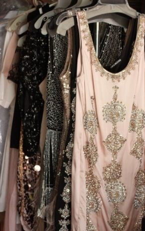 Love the delicate details on these vintage 1920s dresses!!!
