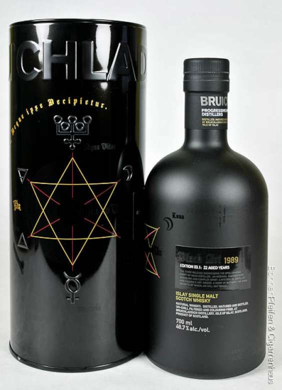 "Bruichladdich Whisky Black Art 1989. ""Sexiest Whisky of the World""!!!"