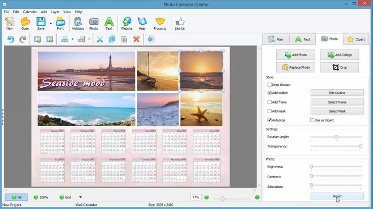 Need a great calendar for your family, clients or church? It's easy as ABC, check out this video guide: http://photo-calendar-software.com/tutorial.php and start making calendars for your own use or promotional need!. #CalendarDesign #PersonalizedCalendar #PhotoCalendarCreator