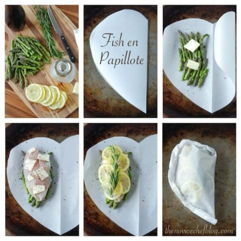 Fish in Parchment Paper from www.thenovicechefblog.com