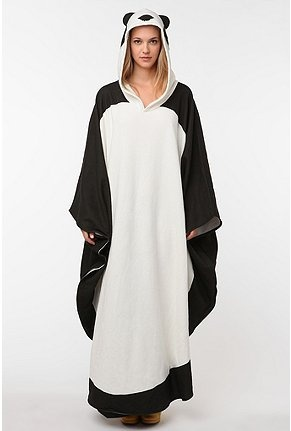 If I had $90.00 to throw around, this would be mine in a second!: Panda Buddy, Uo Panda, Style, Panda Poncho, Panda Snuggie, Things Panda, Pandas