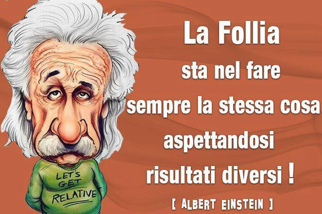 Follia secondo Einstein