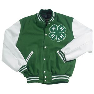 The 4-H Letterman! I would have loved to had this when I was in school as 4-H was the biggest thing in my life then.