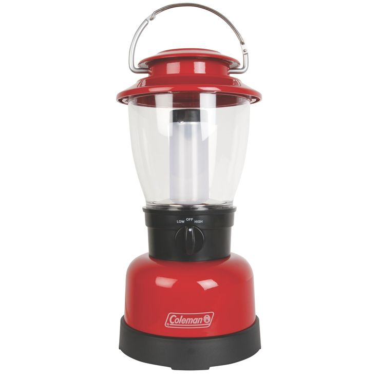 Take the water-resistant Coleman® CPX™ 6 Classic LED Lantern anywhere you need extra light. This lantern shines 400 lumens up to 12 meters on its high setting. CPX™ system compatibility lets you choose your power: four D-cell batteries or one CPX™ 6 rechargeable power cartridge. With a runtime of up to 30 hours on high and 70 hours on low, the sun will come up long before you need fresh batteries. The large bail handle makes it easy to carry anywhere. The LED lasts a lifetime, so it never…