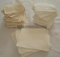 Fabriquer ses lingettes lavables #Tuto