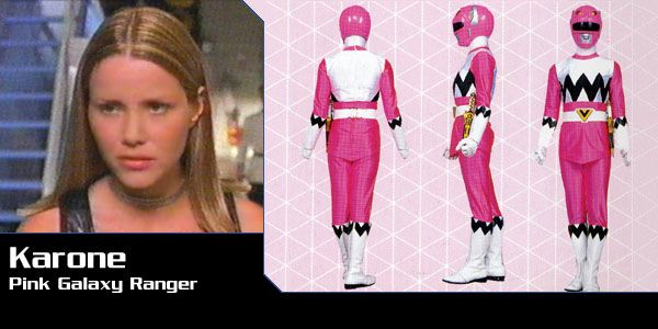 Karone (Pink Galaxy Ranger) - Power Rangers Lost Galaxy | Power Rangers Central