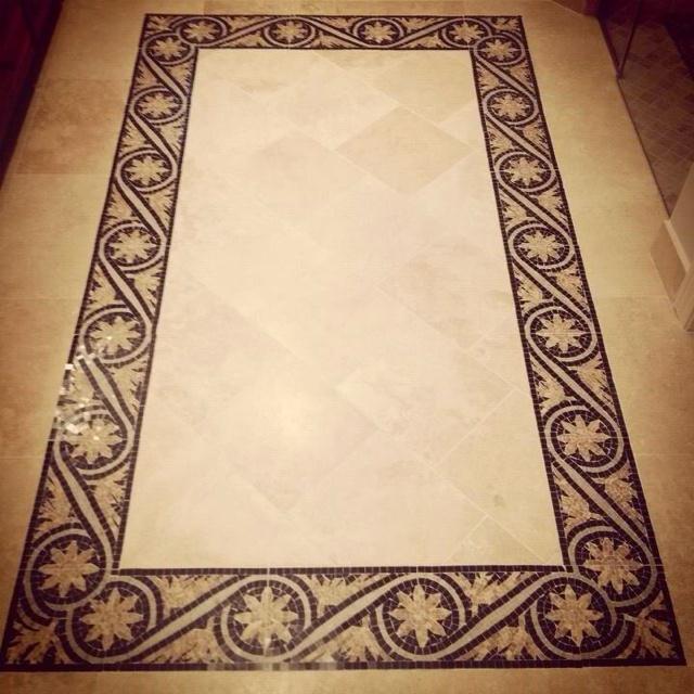 Wilson Concepts & Design Master Bath Floor Design