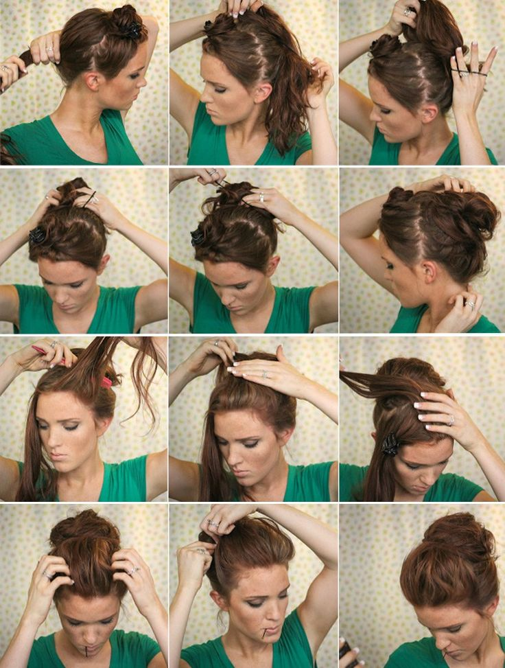 17 best ideas about comment faire un chignon on pinterest - Faire un chignon ...