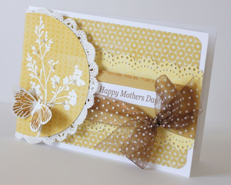golden mothers day card