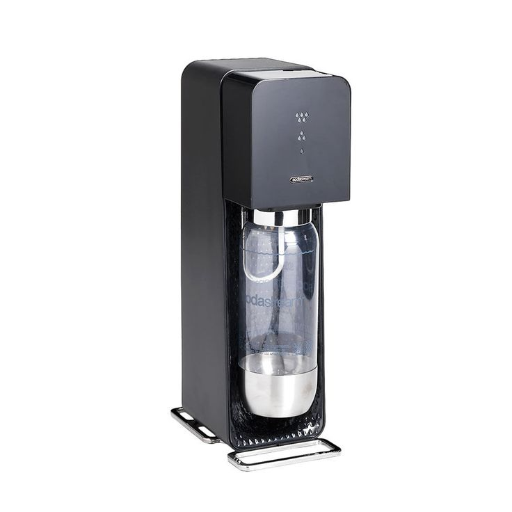 SodaStream 101951115 Allows you to turn your tap water into sparkling drinks in seconds