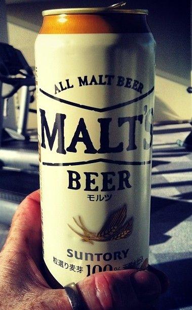 Suntory Malt's Beer - a Japanese beer that goes down as smooth as a German Pilsner.