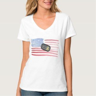 Military Support Our Troops T Shirt