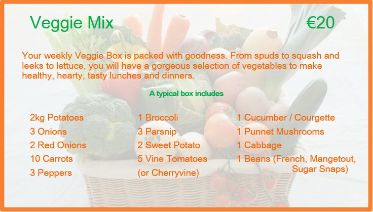 Veggie Mix Description