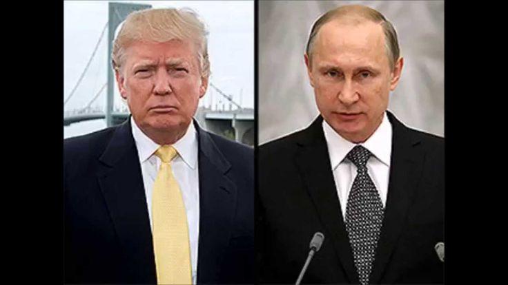 Donald Trump meeting with Russian President Vladimir Putin
