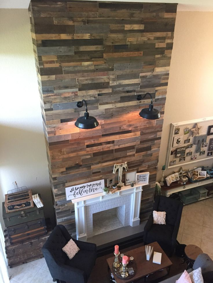 253 Best Images About Reclaimed Pallet Wood Walls On