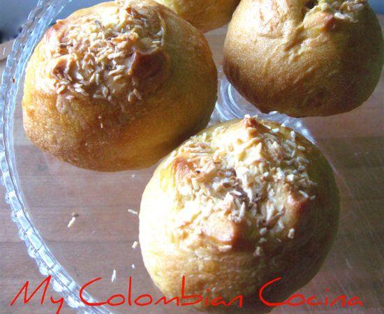 Pan de Coco - My Colombian Cocina