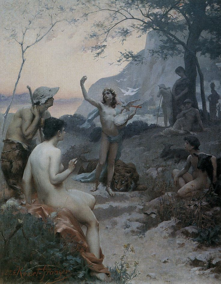 Auguste Leveque young Orpheus?
