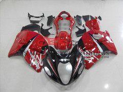 Black & Red fairing kit for Suzuki GSXR 1300 Hayabusa 1999-2007 motorcycles