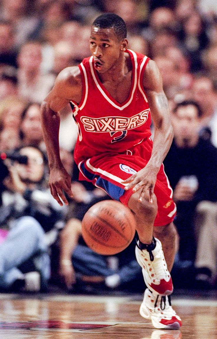 Allen Iverson: 1996-97 : NBA Rookies of the Year: 1990 ...