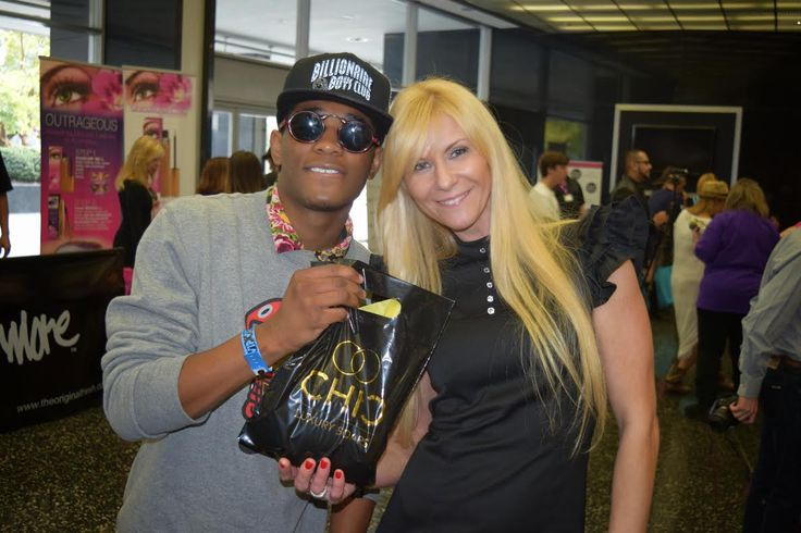 Nadji Jeter-Celebrities   CHIC Irina Marchenkova Celebrities choice. PRE OSCARS event. Shop at CHIC STORE for Unique Gifts. www.chicsoaps.com