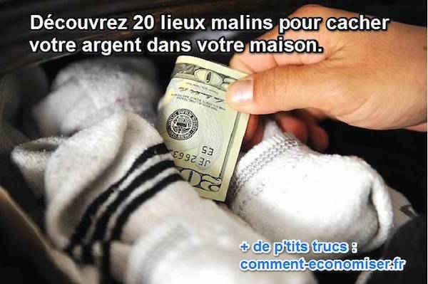 En cas de cambriolage, l'un des premiers endroits que les cambrioleurs regardent est sous le matelas. Ma recommandation est de choisir l'une de ces cachettes pour votre argent au lieu de le mettre sous le matelas.  Découvrez l'astuce ici : http://www.comment-economiser.fr/ou-cacher-son-argent-maison.html?utm_content=buffer82faf&utm_medium=social&utm_source=pinterest.com&utm_campaign=buffer