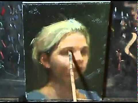 ▶ Oil painting demonstration - YouTube