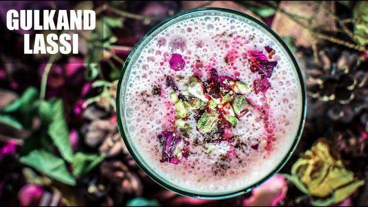 Gulkand Lassi Recipe | How To Make Rose Lassi