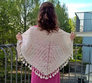 Sarikka från Kottby: Granny's shawl 2016