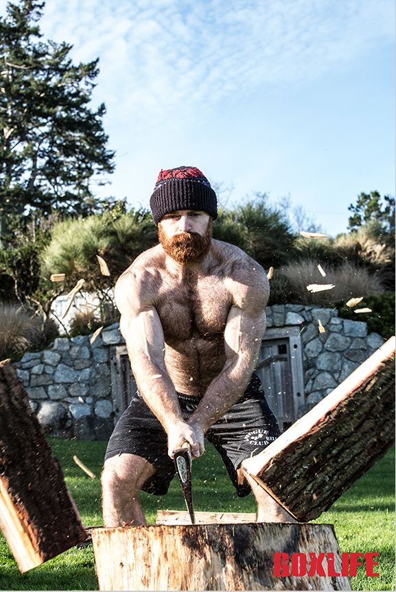 Lucas Parker Lumber Jacked  Style.