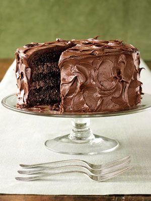 Rich Chocolate Layer Cake