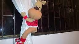 Resultado de imagen para canasta navideñas en paño lency