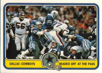 1981 Fleer Team Action #14 Dallas Cowboys Defense Front