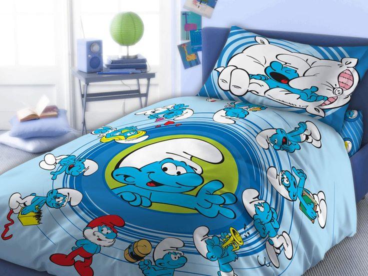 Pościel Smurfs Hello Smerfy 160x200