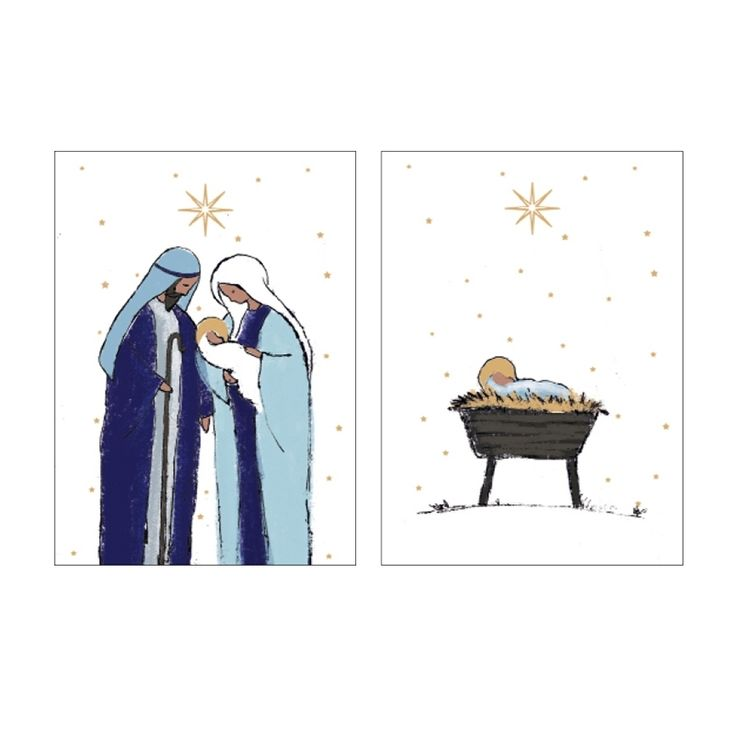 Mary and Joseph and the Manger