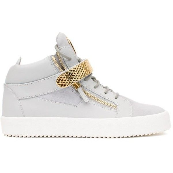 Giuseppe Zanotti Design Leather Sneakers ($905) ❤ liked on Polyvore featuring men's fashion, men's shoes, men's sneakers, bianco, mens velcro shoes, mens velcro strap sneakers, mens white leather sneakers, mens white leather shoes and mens velcro strap shoes