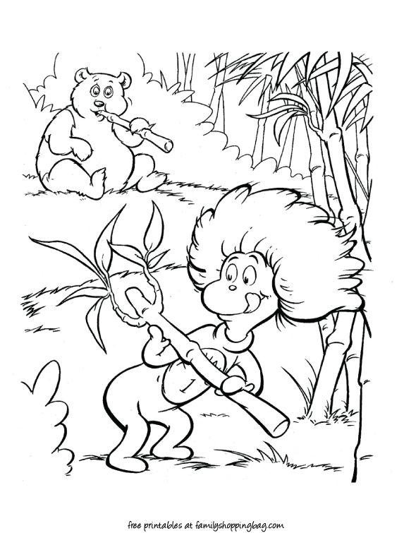 Tolle Dr Seuss Druckbare Malvorlagen Zeitgenössisch - Ideen färben ...